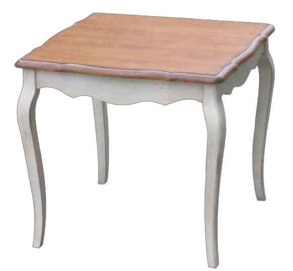 Стол обеденный квадратный Belveder Blanc bonbon, ST9353