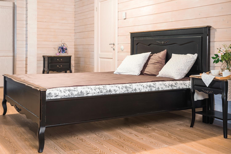 Кровать Belveder Saphir Noir (160), ST 9141MN
