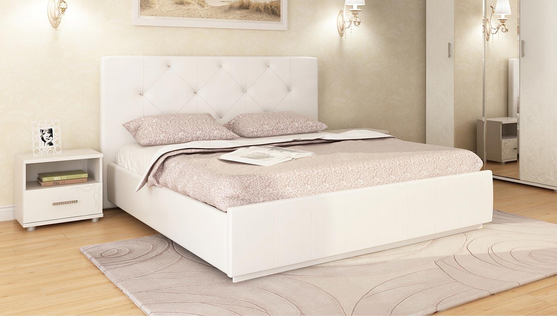 Кровать интерьерная Арника Лина (160)