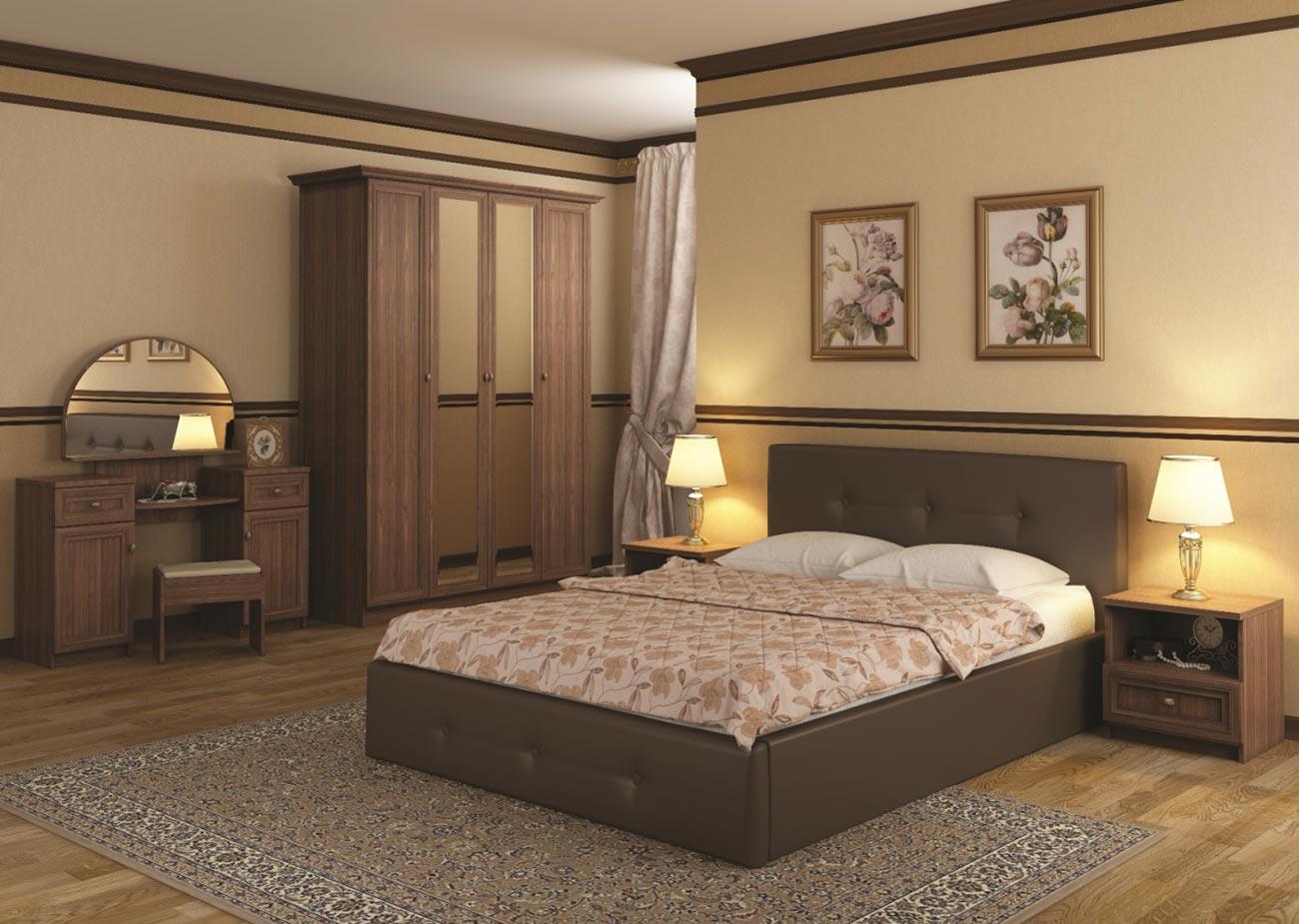 Кровать интерьерная Арника Линда (180) best 87