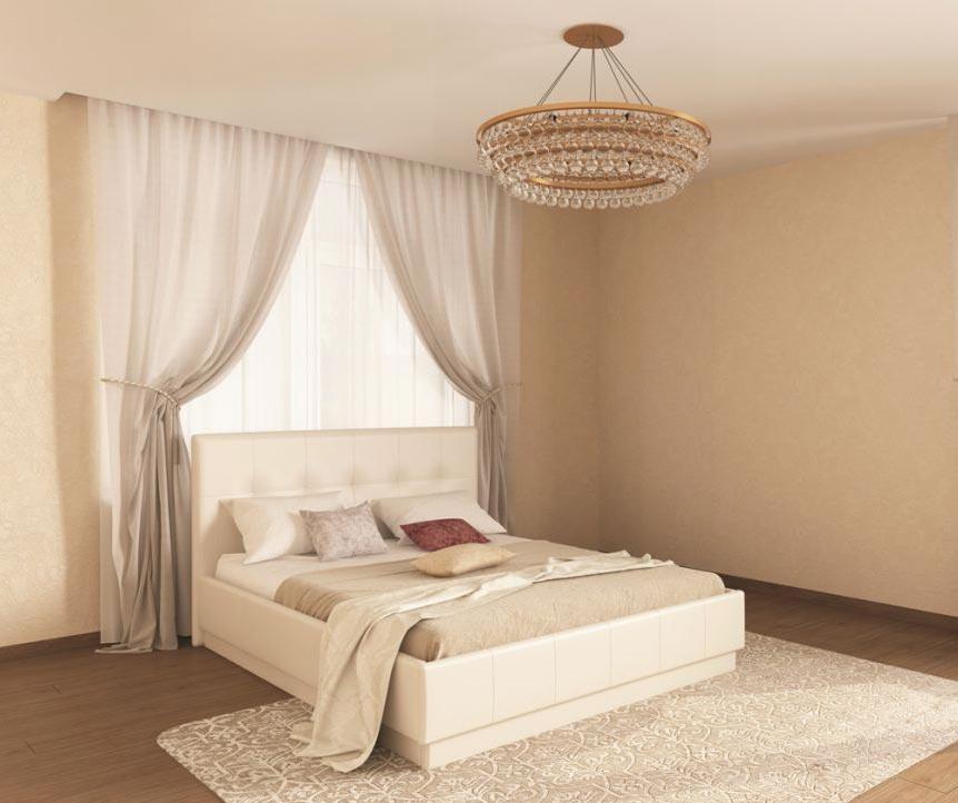 Кровать интерьерная Арника Локарно (160)