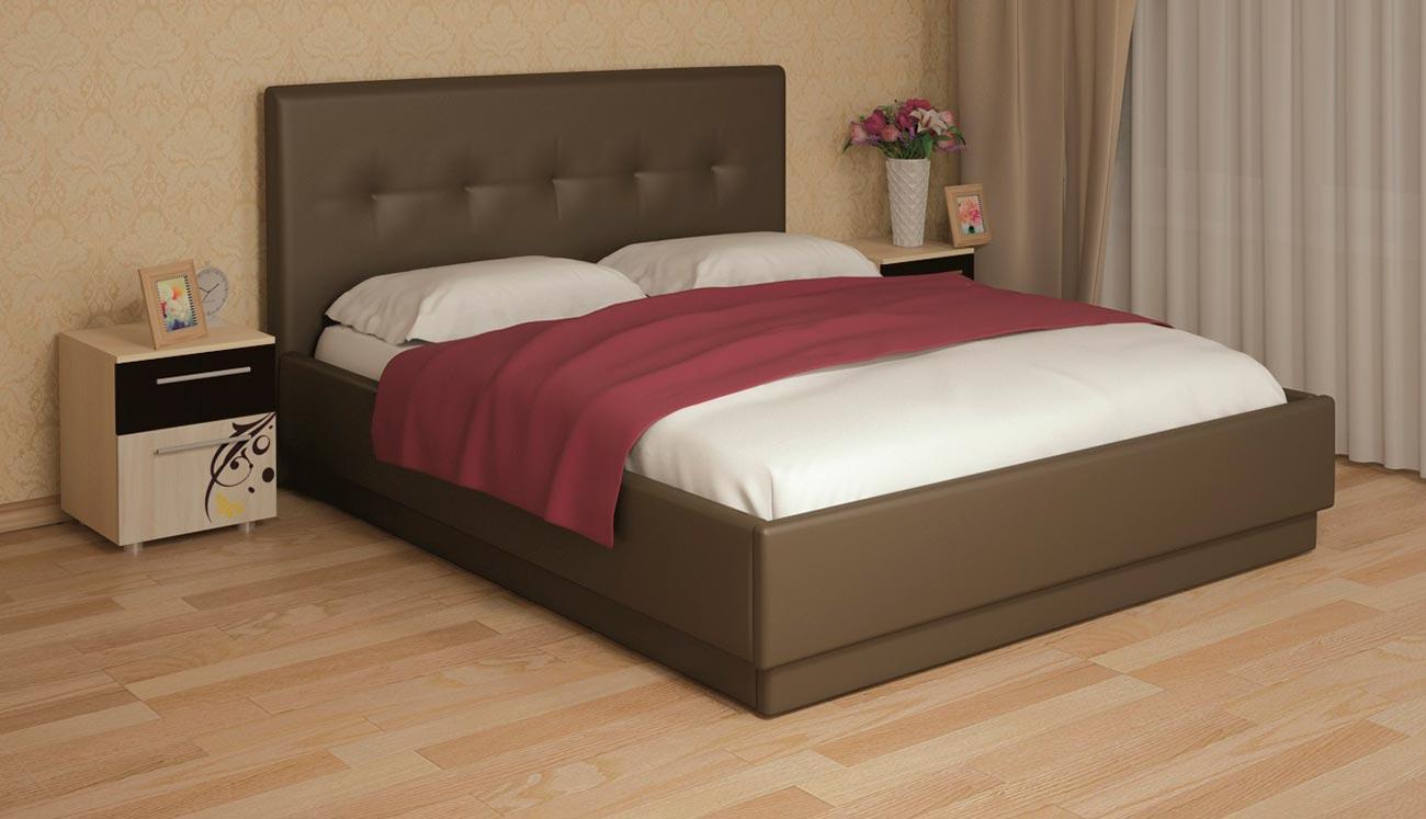 Кровать интерьерная Арника Локарно (160) best 87