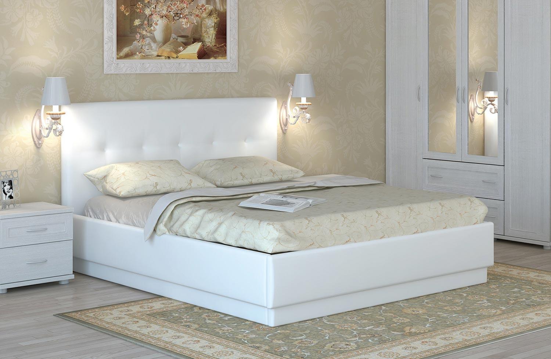 Кровать интерьерная Арника Локарно (140)