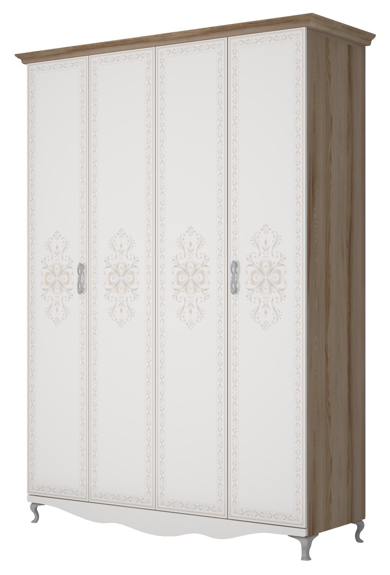 Шкаф 4х дверный Ижмебель Династия, мод. 1