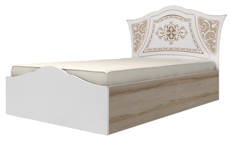 Кровать (120) Ижмебель Династия, мод. 20