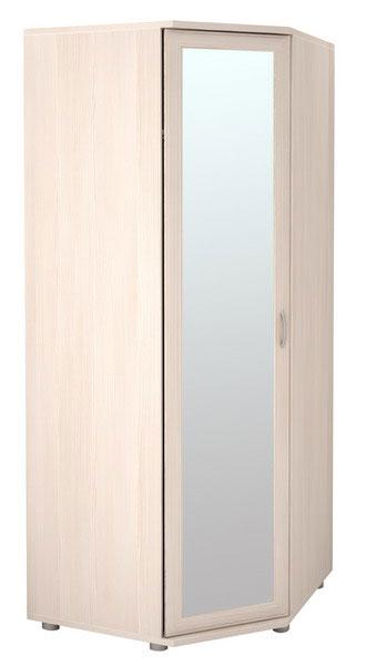 Угловой шкаф Ника-Люкс для одежды с зеркалом АРТ 30р