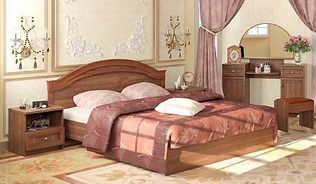 Кровать Ижмебель Ребекка (140)