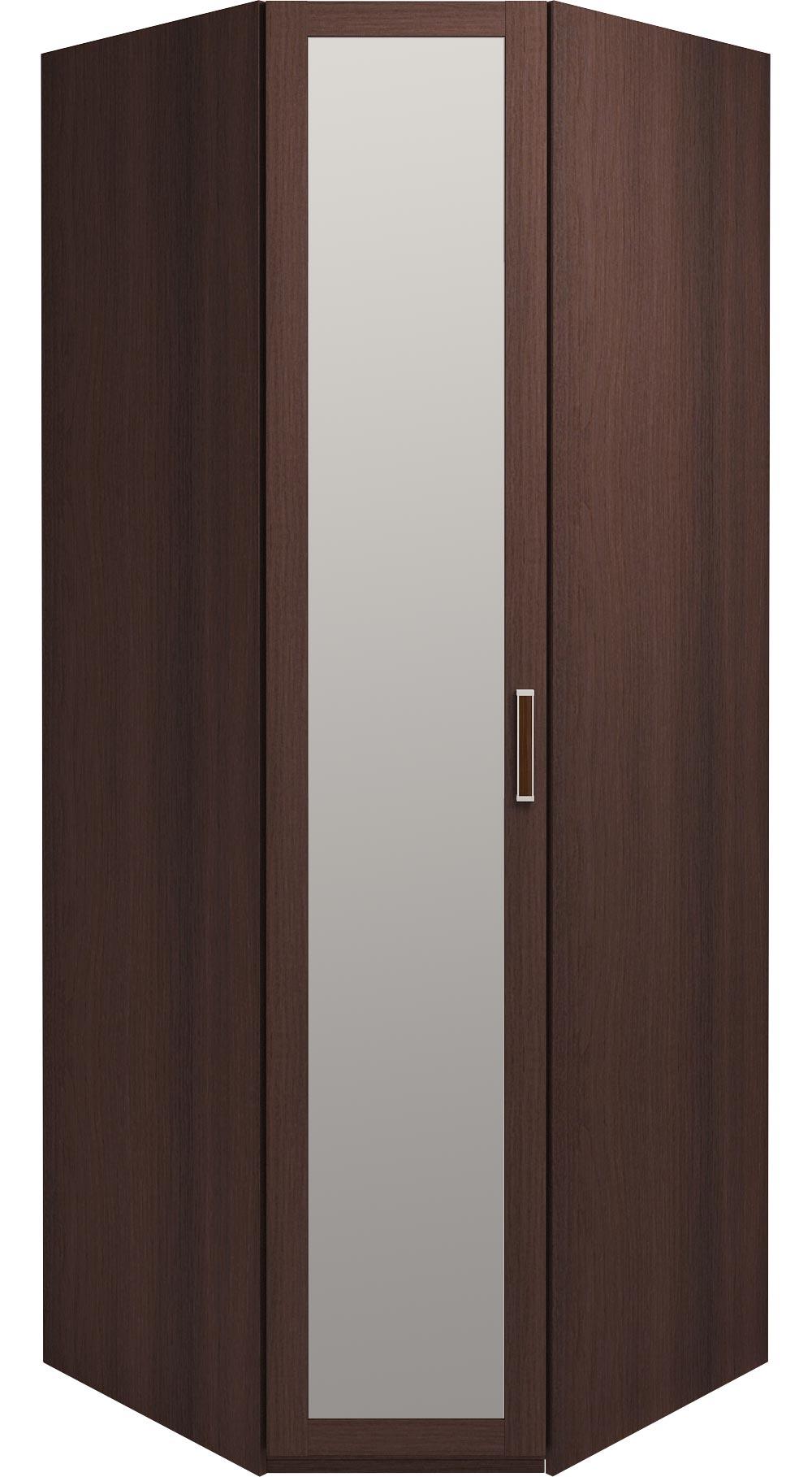 Шкаф угловой с зеркалом Ижмебель Скандинавия, арт. 5