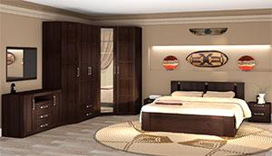 Спальня Ижмебель Скандинавия