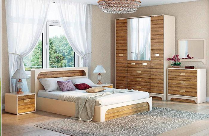 Спальня Терра-Люкс Ижмебель