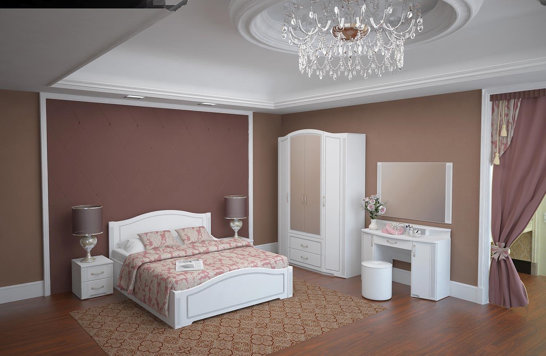 Спальня Ижмебель Виктория, комплектация 1