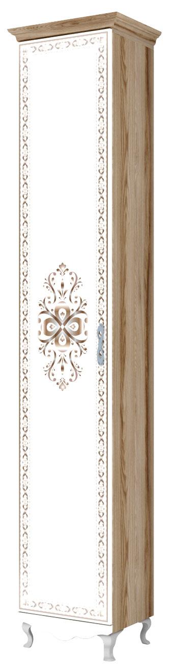 Шкаф-пенал для белья Ижмебель Династия, арт.17