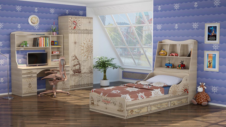 Набор для детской комнаты Ижмебель Квест 1
