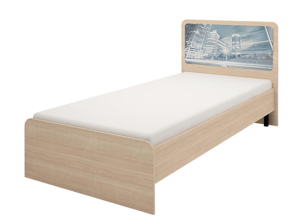 Кровать Ижмебель Манхеттен (90), арт. 06