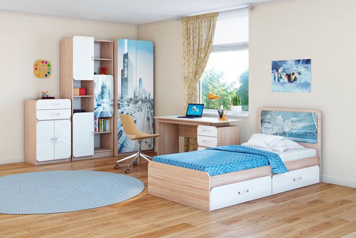 Набор для детской комнаты Ижмебель Манхеттен