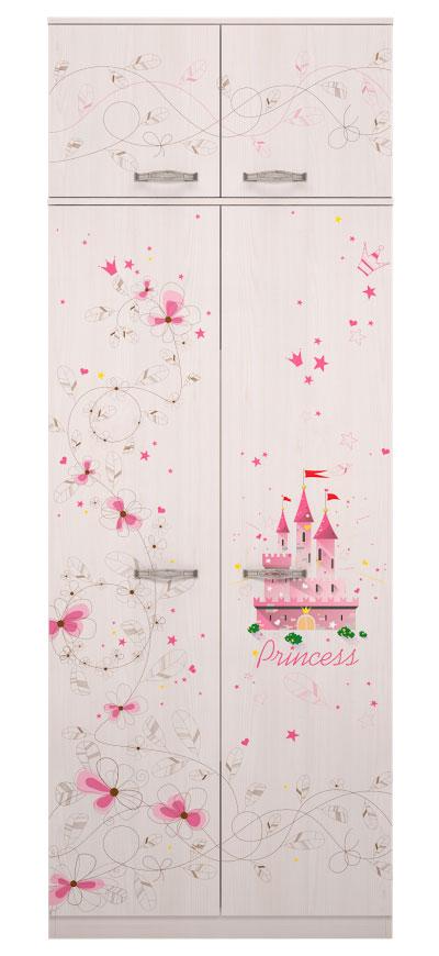 Шкаф Ижмебель Принцесса для одежды 1
