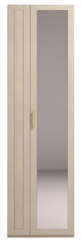 Шкаф Ижмебель Скандинавия Люкс для одежды с зеркалом, мод.44