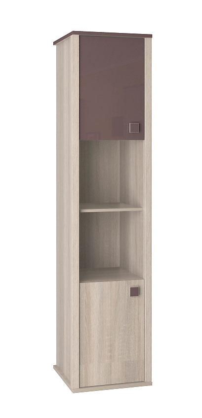 Шкаф для книг Интеди Хэппи, ИД 01.16