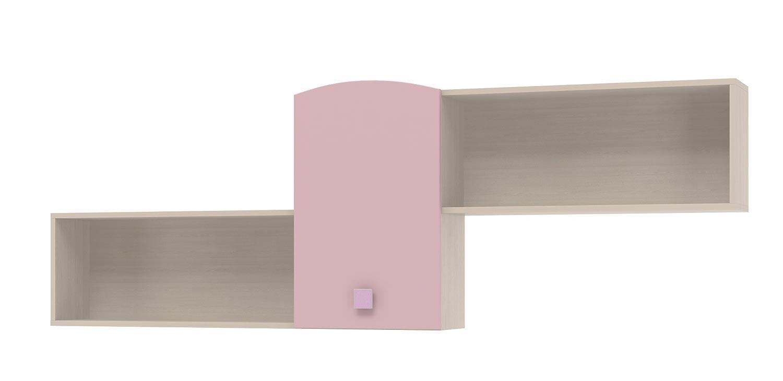 Полка над кроватью Интеди Pink, ИД.01.111