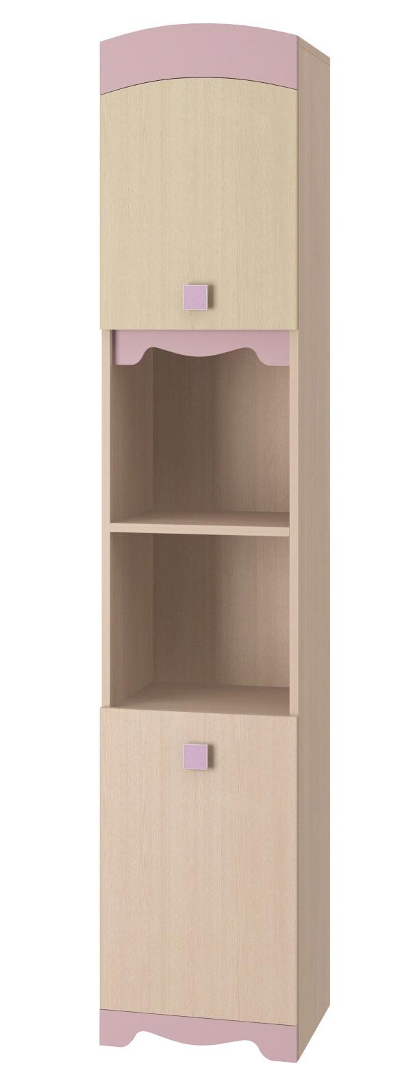 Шкаф-пенал для книг Интеди Pink, ИД.01.142a