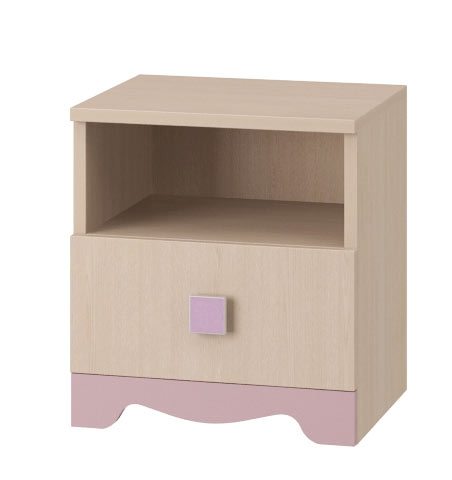 Тумба прикроватная Интеди Pink, ИД.01.99