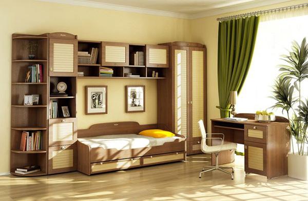 Комплект мебели для детской Робинзон №2