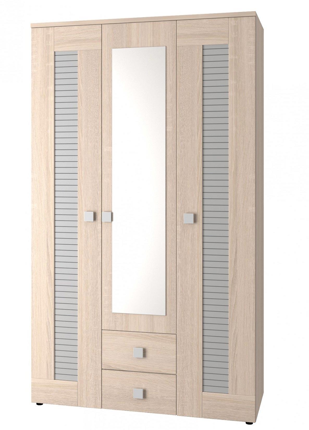 Шкаф 3х дверный для одежды Интеди Саша Модерн, ИД.01.67