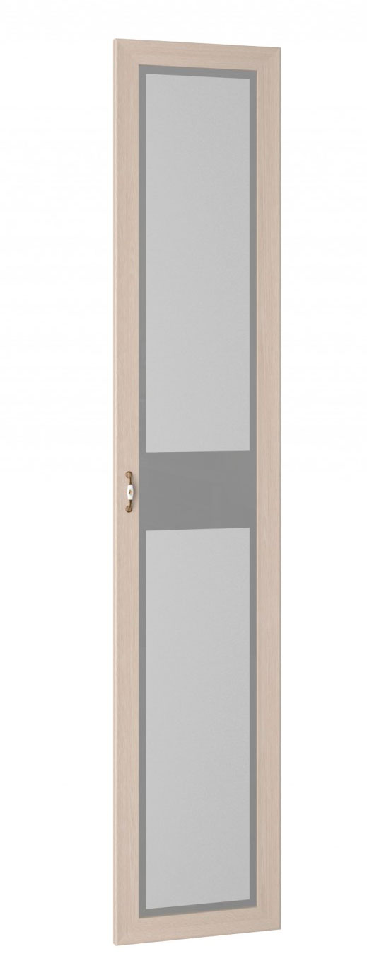 Дверь к шкафу для книг (стекло) Интеди Соната, ИД 01.11.01