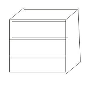 Комод встроенный к шкафу Интеди Соната венге, ИД 01.119а