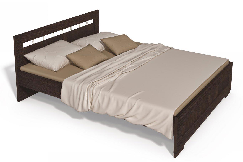 Кровать Интеди Соната венге (160), ИД 01.169