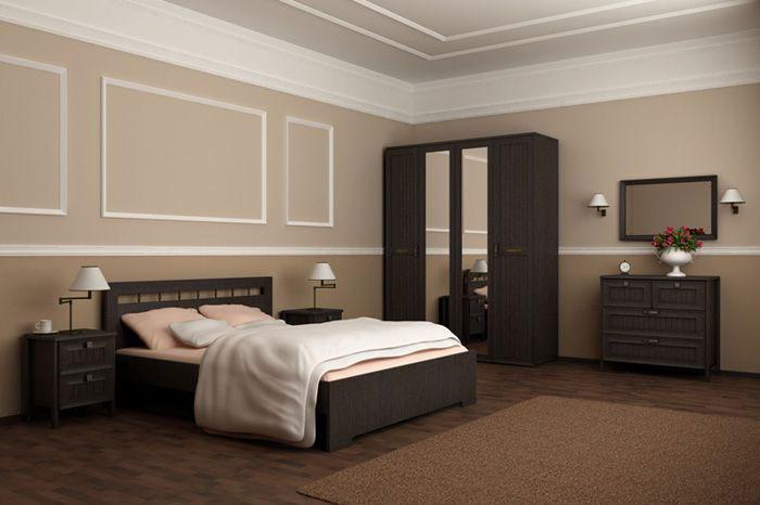 Комплект мебели для спальни Интеди Соната венге №2