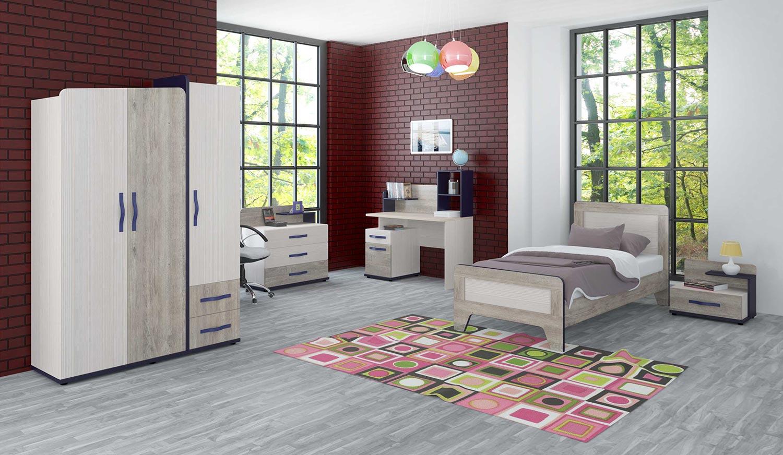 Мебель для детской комнаты Интеди Тайм 1
