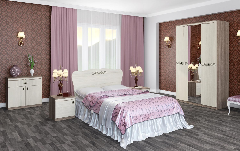 Комплект мебели для спальни Интеди Жасмин