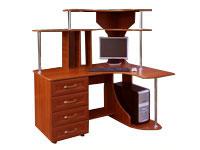 Угловой компьютерный стол на заказ ИП Жукова