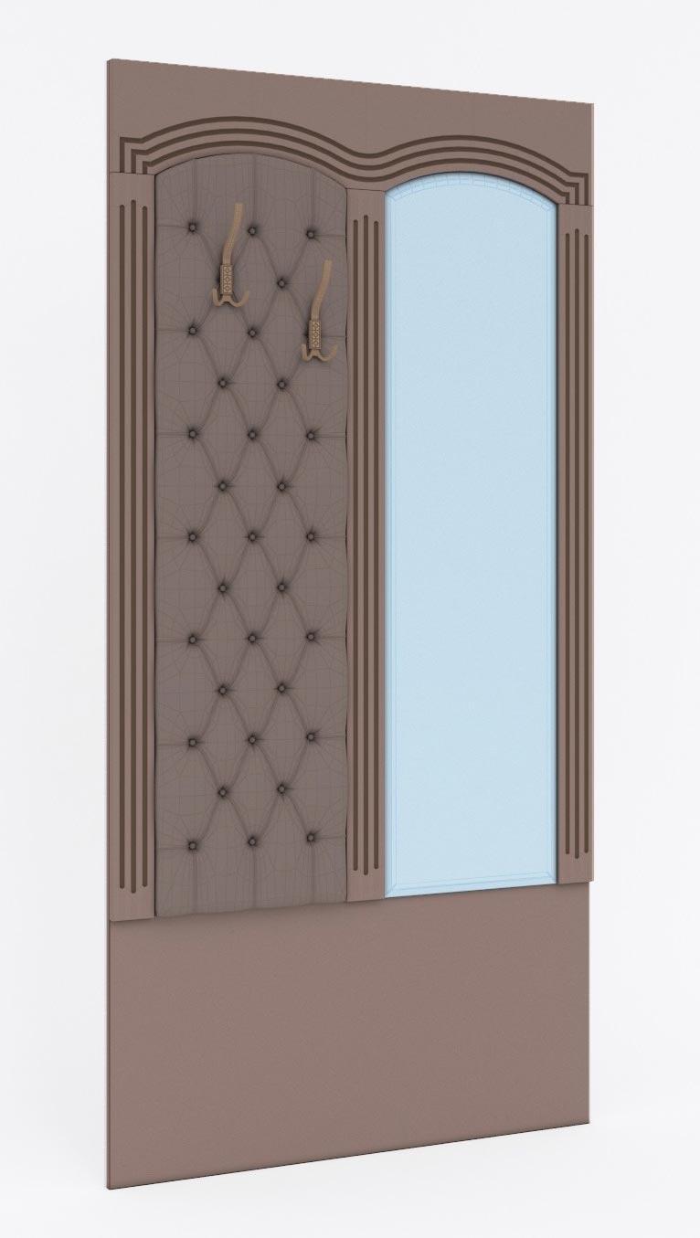 Вешалка с зеркалом к банкетке Кентавр 2000 Гранд, арт.12