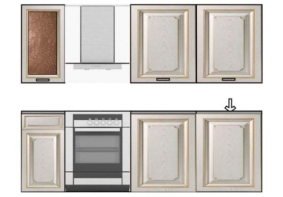 Кухонный гарнитур №5 Кентавр 2000