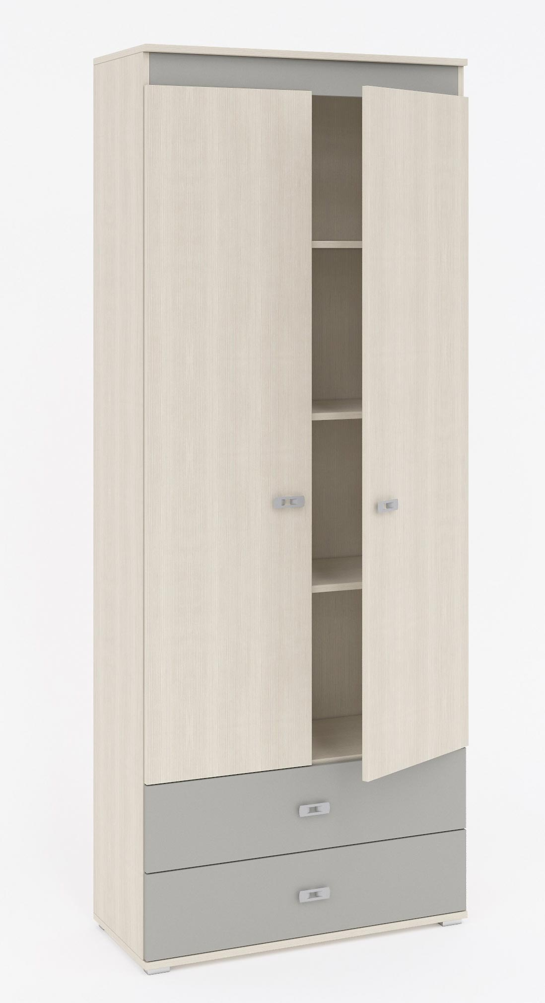 Шкаф 2 двери, 2 ящика Кентавр 2000 Пьеро, арт.11
