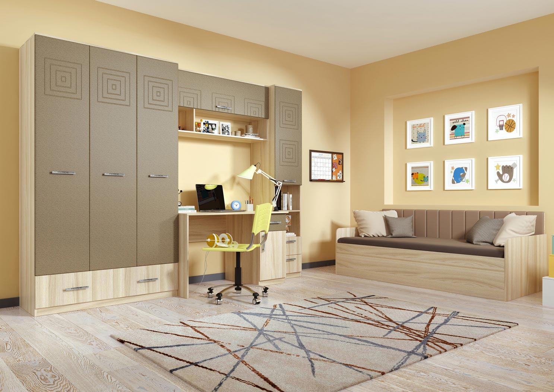 Мебель для детской комнаты Кентавр 2000 Тандем-1, 2