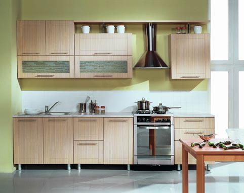 Кухонный гарнитур Трапеза Престиж 2600 (МДФ), (II категория)
