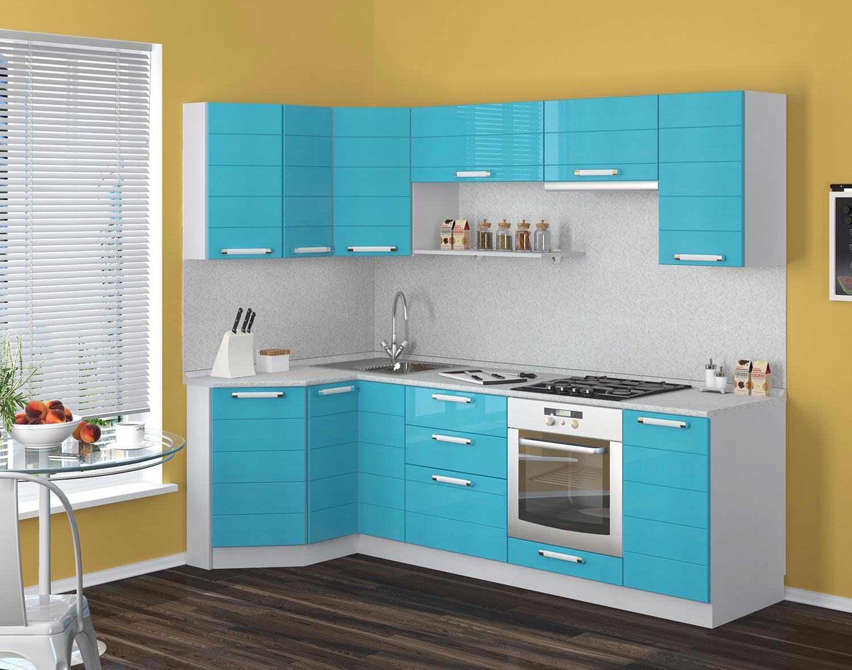 Кухонный гарнитур Трапеза-Престиж 1200х1785 мм (II категория)
