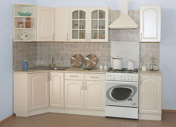 Кухонный гарнитур Трапеза 900х2100 мм (I категория)