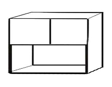 Шкаф с нишей АРТ: В-106Н