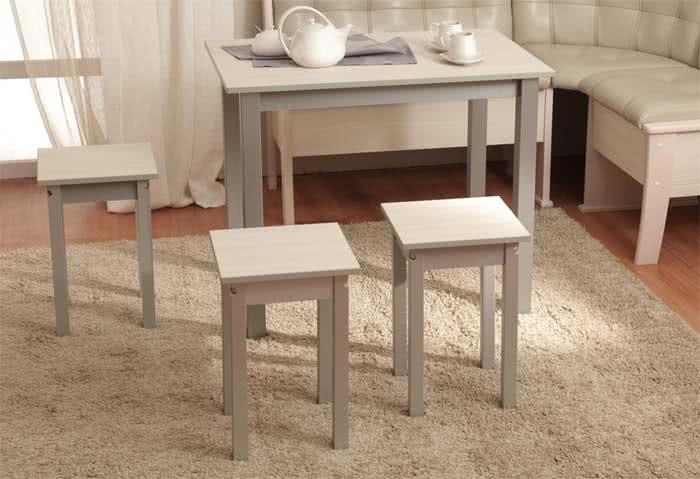 Стол обеденный Боровичи (прямая нога)