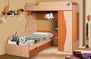 Детская мебель Альфа-3 КМК