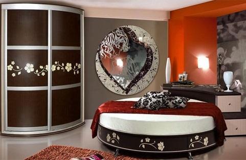 Кровати купить: двуспальные, круглые.