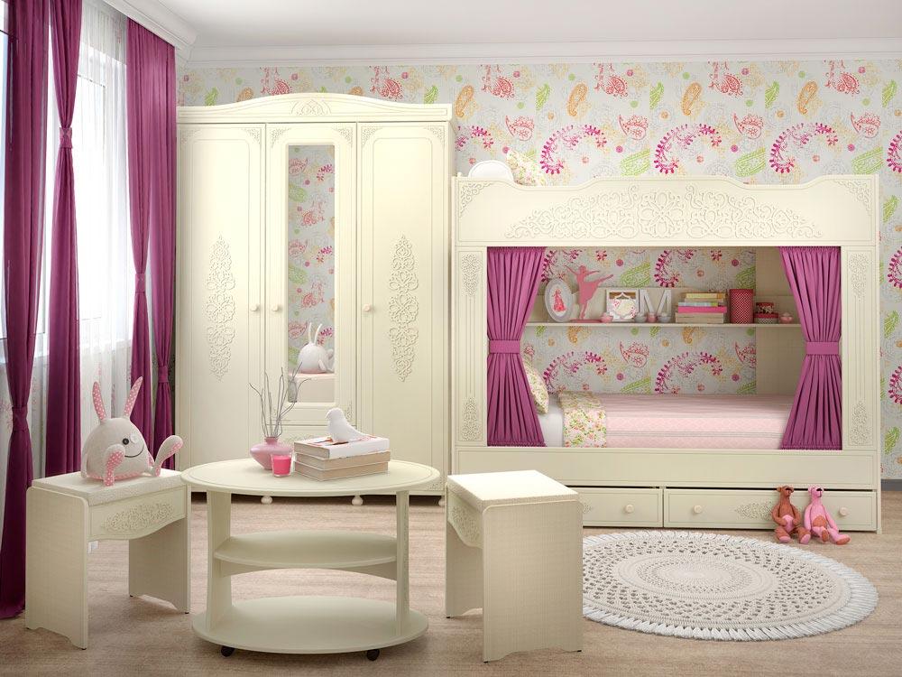 Мебель для детской Компасс Ассоль Плюс 2