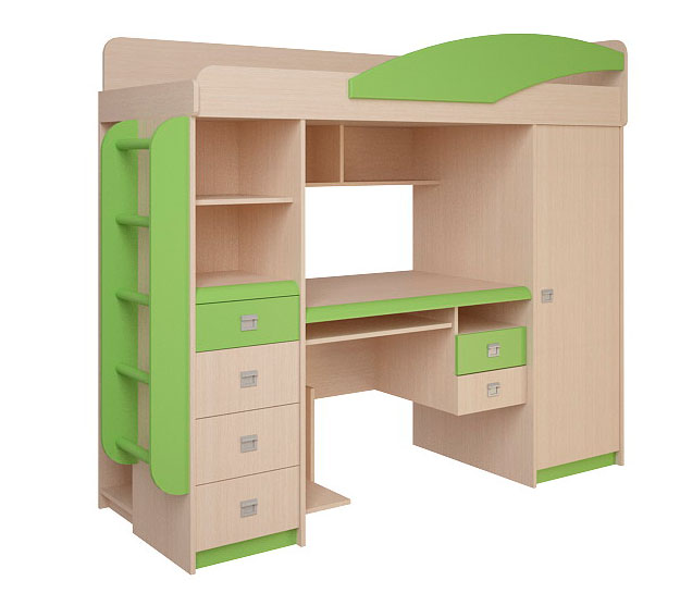 Набор мебели Корвет ЖК 4.1.1Л (эвкалипт)