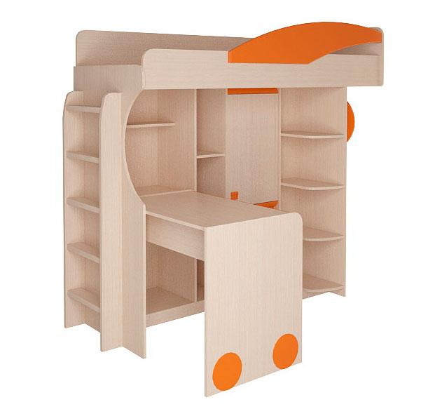 Набор мебели Корвет МДК 4.4.1Л с лестницей
