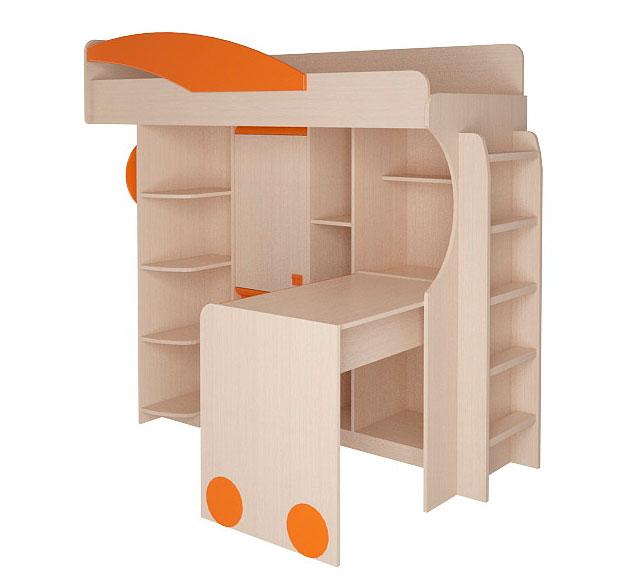 Набор мебели Корвет МДК 4.4.1П с лестницей