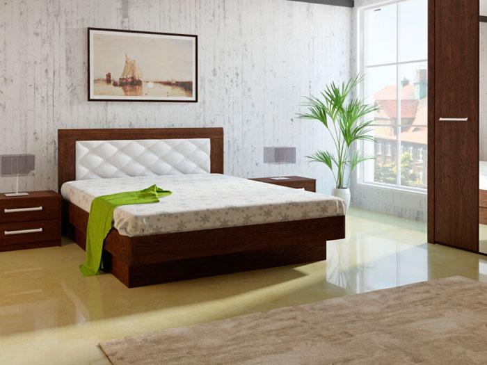 Набор мебели для спальни МК 44 дуб Корвет, комплектация 3
